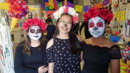 Day of the Dead community day at VHS.