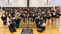 El Dorado High School dance team.
